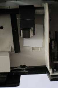 The machine (printer detail)