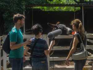 Mauricio, Carmen y Félix